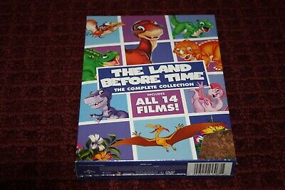 The Land Before Time: The Complete Collection (DVD, 2016, 8-Disc Set) *Brand New