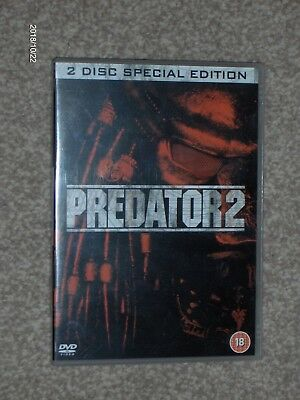 Predator 2 DVD - 2 Disc Special Edition - Danny Glover - Region 2 UK