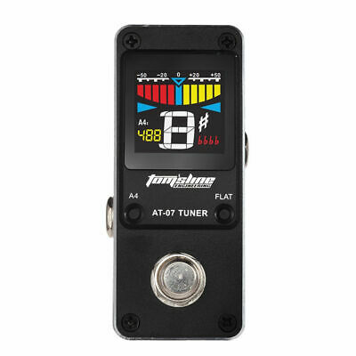 Tom'sline Engineering Pedal Tuner AT-07 Chromatic For Guitar 6-7 String & Bass
