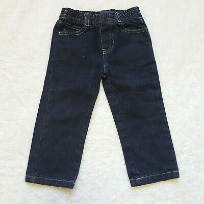 Kids Headquarters Boys Toddler Jeans Black Size 24 Months Stretch Waistband