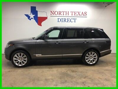 2014 Land Rover Range Rover L Supercharged Gps Camera Panoroof Long Wheel Base 2014 L Supercharged Gps Camera Panoroof Long Wheel Base Used 5L V8 32V Automatic