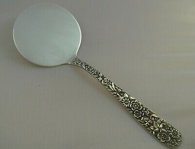 """+ S. Kirk & Son Repousse Sterling Silver Hot Cake Lifter 7 3/4"""" 925/1000"""