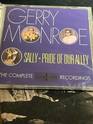 GERRY MONROE  Sally-Pride Of Our Alley [Complete Chapter 1 Recordings 2xCD 2017]
