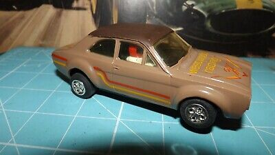 SCALEXTRIC FORD ESCORT RS1600 Mexico Car - Modified & With New Rear Tyres !