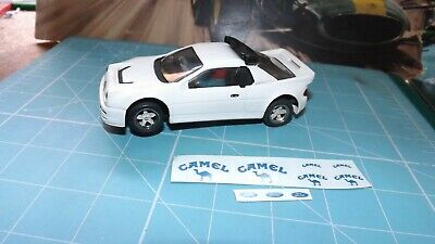SCALEXTRIC FORD RS200 4x4 Car With New Belts Fitted - Nicely Painted - Rare !