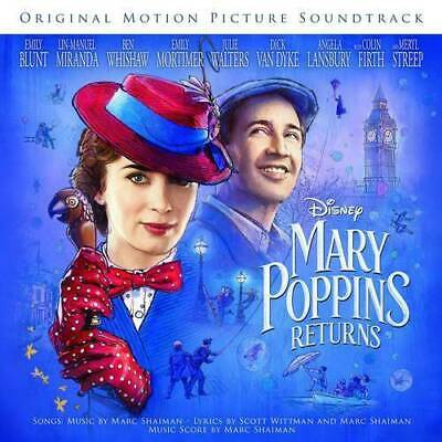 Mary Poppins Returns (Movie Soundtrack - Cd Sealed + Free Post)