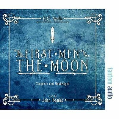 The First Men in the Moon by Wells, H. G., NEW Book, FREE & Fast Delivery, (Audi