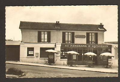 """ORMESSON (94) RESTAURANT """"AU PANORAMA D'ORMESSON"""" vers 1950"""