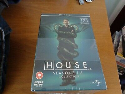 House: Seasons 1-6 DVD (2010) Hugh Laurie new/sealed,free postage uk