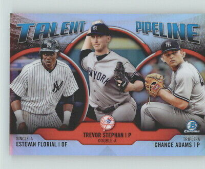 2019 Bowman Chrome Talent Pipeline Insert *Pick Your Team* w/ Free Shipping (E