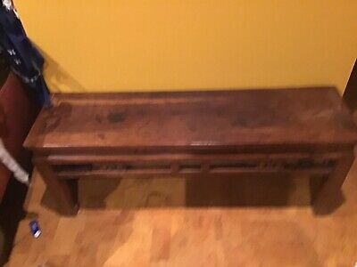 antique Chinese table 31 cm x 41 cmx 110