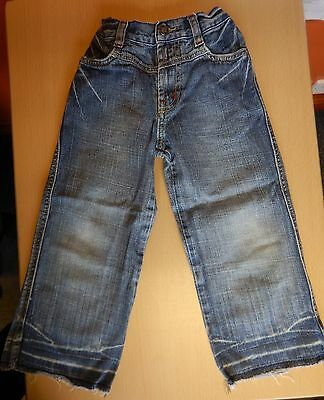 Next - distressed blue jeans - aged 4 years