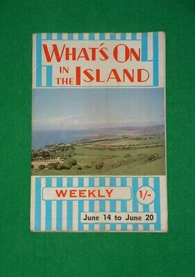 WHAT`S ON IN THE ISLAND Isle Of Wight TOUR MAGAZINE June 1969