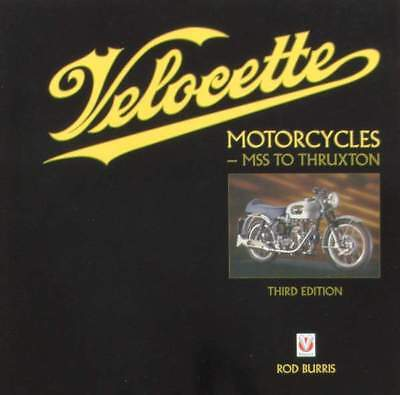 LIVRE/BOOK :  Velocette Motorcycles - MSS to Thruxton (moto de collection