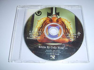 PRINCE - Betcha By Golly Wow EU 1996 NPG Records promo CD