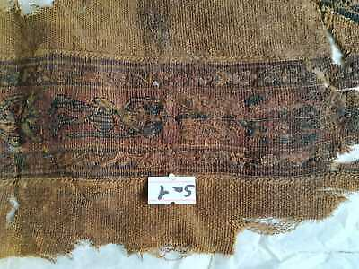 Ancient Egyptian Early Tiraz islamic fatimid and Abbasid Textile Fragments