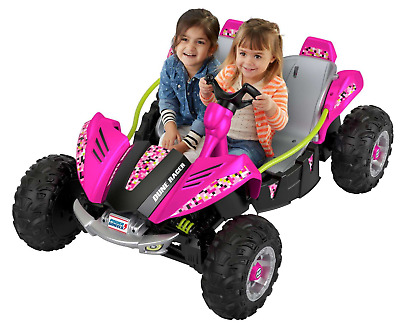 Power Wheels Dune Racer 12-V Battery-Powered Ride-On Vehicle, Pink ages 3-7 yrs