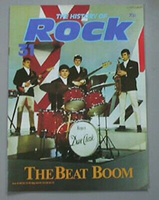 Dave Clark Five History Of Rock 31 Magazine 1982 - Group Colour Cover + 3 Pages