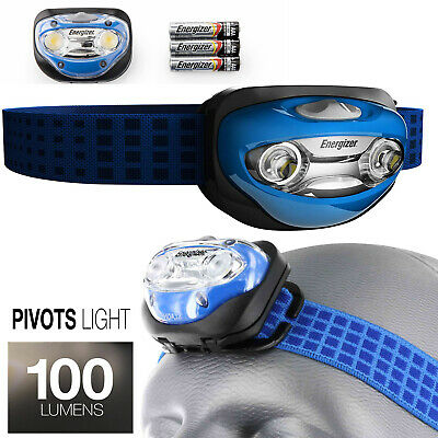 Energizer LED Headlamp with Vision Optics and Two Modes 48Hours Delivery Origine