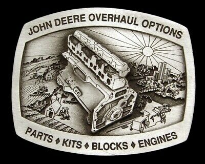 Je30137 *Nos* 1995 **John Deere Tractor** Overhaul Parts Options Pewter Buckle