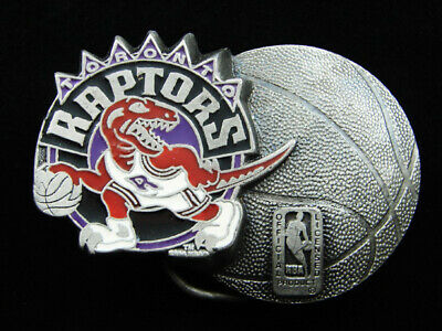 Rf13132 Vintage 1994 **Toronto Raptors** Nba Basketball Sports Belt Buckle