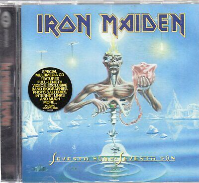 IRON MAIDEN  - Seventh Son Of A Seventh Son, CD EUROPE 1998