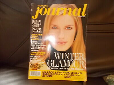 Woman's Journal  Magazine November  1996   Super Condition
