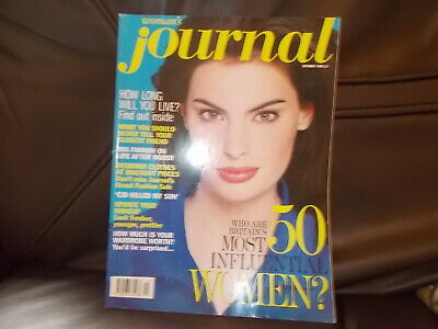 Woman's Journal  Magazine October  1996   Super Condition