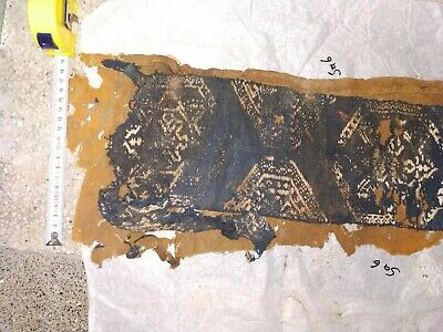 Ancient Egyptian Early Christianity coptic Textile Fragment