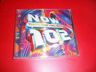 Now That's What I Call Music 102. 2 Cd Set New Out Sealed..