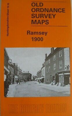 Old Ordnance Survey Maps Ramsey Huntingdonshire  1900 Godfrey Edition