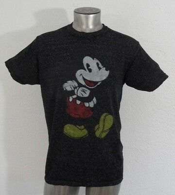 4f057481d997be DISNEY MICKEY MOUSE Mens Sz Large Muscle Shirt Tank Top Grey GUC ...