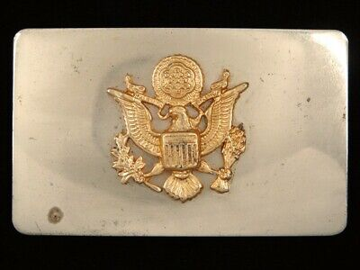 RG01128 VINTAGE 1970s **SEAL OF THE UNITED STATES OF AMERICA** BELT BUCKLE