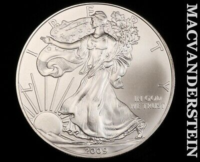 2009 American Silver Eagle 1 Ounce-Ch Gem Brilliant Unc!! No Reserve!! #f3410