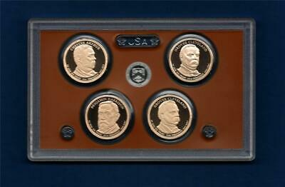 2012 S PROOF Presidential Dollar Set - Ultra Cameo -4 Coins-NO BOX/COA- IN STOCK