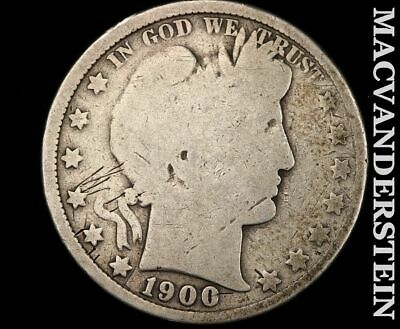 1900 Barber Half Dollar-Scarce Better Date!!  #d8977