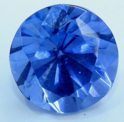 GGL Lab Certified Beautiful 6.00 Ct Natural Round Cut Ceylon Blue Sapphire