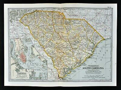 Map Of The South England.1902 Century Map South England Wales London Plan Stonehenge