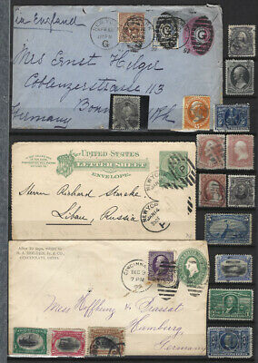 USA 1861-1907 super lot of used stamps high catalogue !!
