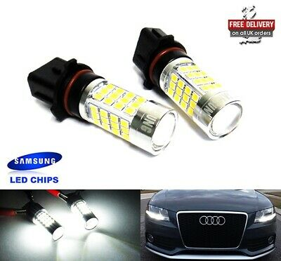 2x P13W Bulb SAMSUNG High Power 40W LED Fog Headlight Daytime Running Light DRL