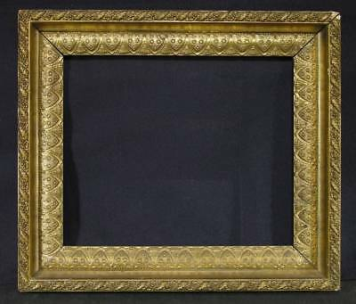Mid - Late 19th C Victorian Aesthetic Era Gilded Frame, Deep Scoop,Some Egyptian