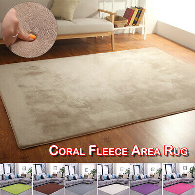 Large Rugs Shaggy Soft Carpet Home Dining Living Room Bedroom Floor Mat Decor