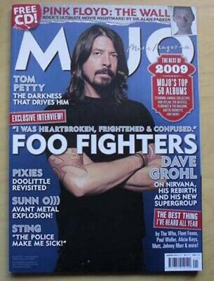 Foo Fighters Mojo #194 Magazine Jan 2010 Dave Grohlcover With More Inside Uk