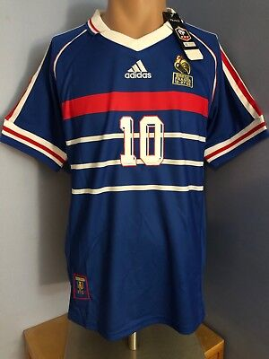Maillot France 98, taille M : ZIDANE - NEUF-!!!!