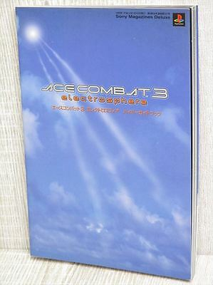 ACE COMBAT 3 Electrosphere Guide PS Book SM79