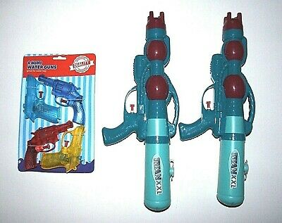 2 x Water Gun titan XXL Super Soaker 4 x toy water pistols Kids,Blaster,Squirt