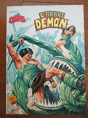 Conan L'arbre Demon  Artima Color Marvel Geant 1983 Superbe Etat