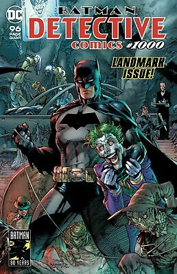 Detective Comics #1000 Landmark Issue Jim Lee  DC Comic 1st Print 2019 unread NM