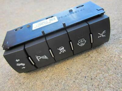 New OEM 5 Buttons Accessory Switches Panel Panel 07-13 GMC Tahoe Escalade Sierra