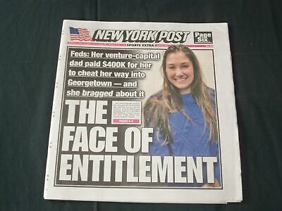THREE AND DOUBT  9//28//20 Details about  /NEW YORK POST NEWSPAPER NO ONE TO BOO